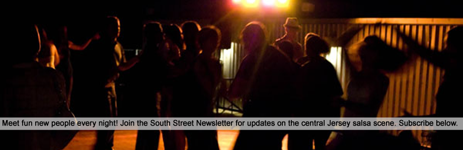 Info on upcoming parties, performances and new lessons in the newsletter